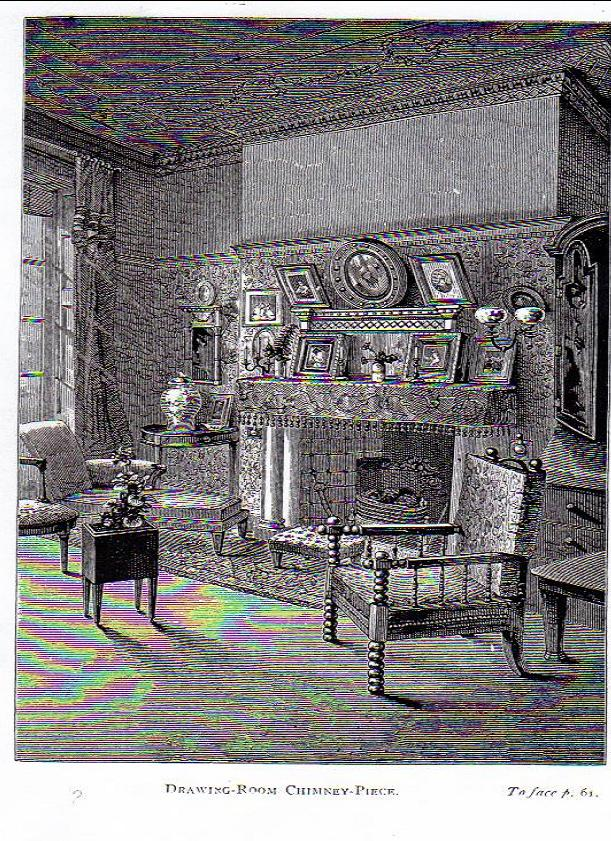 Rhoda and Agnes Garrett's drawing room, 2 Gower Street, Bloomsbury
