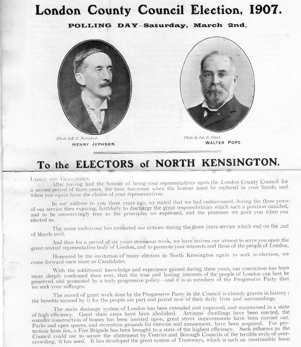 LCC election 1907 1