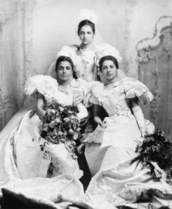 Princess Bamba Duleep Singh and her daughters, Sophia and Catherine, were leading members of the Empress Club