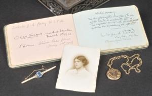 suffragette autograph album