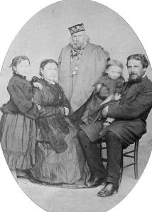 Garibaldi and family c 1875