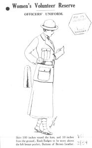 WVS uniform - from Imperial War Museum Women's War Work Collection courtesy of Gale Learning