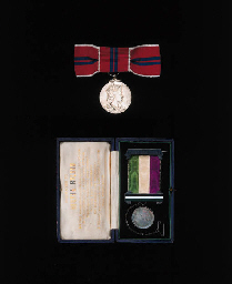 Bertha Ryland's WSPU hunger-strike medal (together with her Coronation medal) courtesy of Christie's