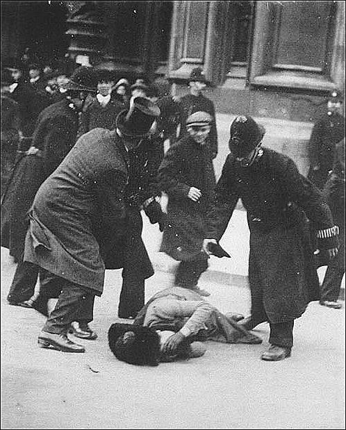 'Black Friday', Parliament Square, November 1911