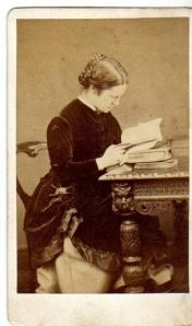 Elizabeth Garrett Anderson when young