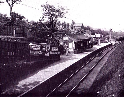 Hagley Road Station c 1913
