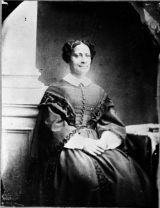 Sarah Parker Remond c. 1865 (Courtesy Peabody Essex Museum Collection)