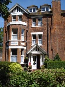 The Kennys' house in Bouverie Road