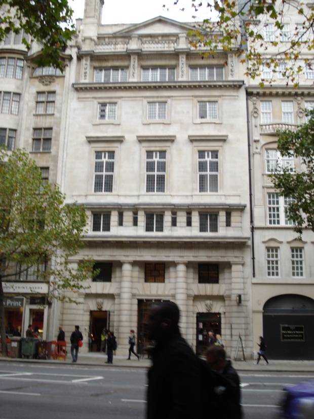 Lincoln's Inn House 2013, former headquarters of the WSPU