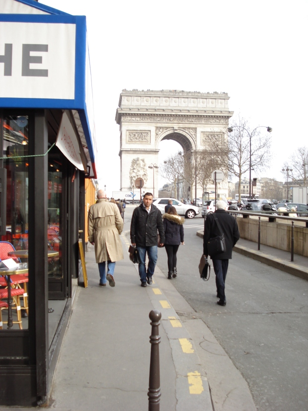 and a stone's throw from the Arc de Triomphe