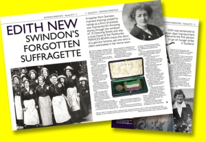 Feature on Edith New in Swindon Heritage magazine