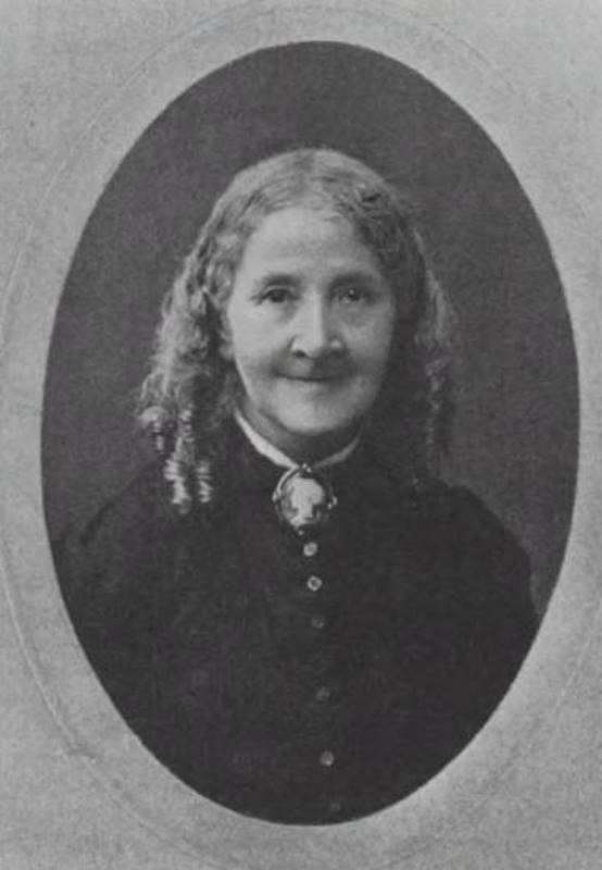 Elizabeth Wolstenholme Elmy photographed c 1906