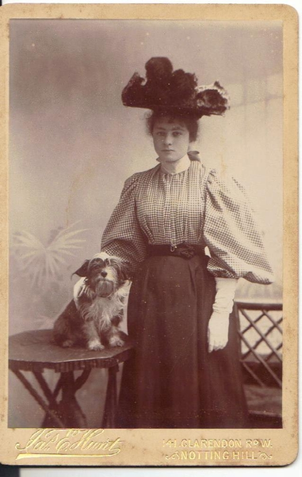 Kate photographed c 1897