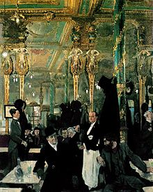 Cafe Royal, by Willian Orpen, 1912