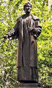 Mrs Pankhurst's statue