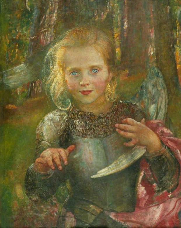 'Illusions' by Annie Swynnerton, Collection Manchester City Galleries, courtesy of BBC Your Paingints & the Public Catalogue Foundation