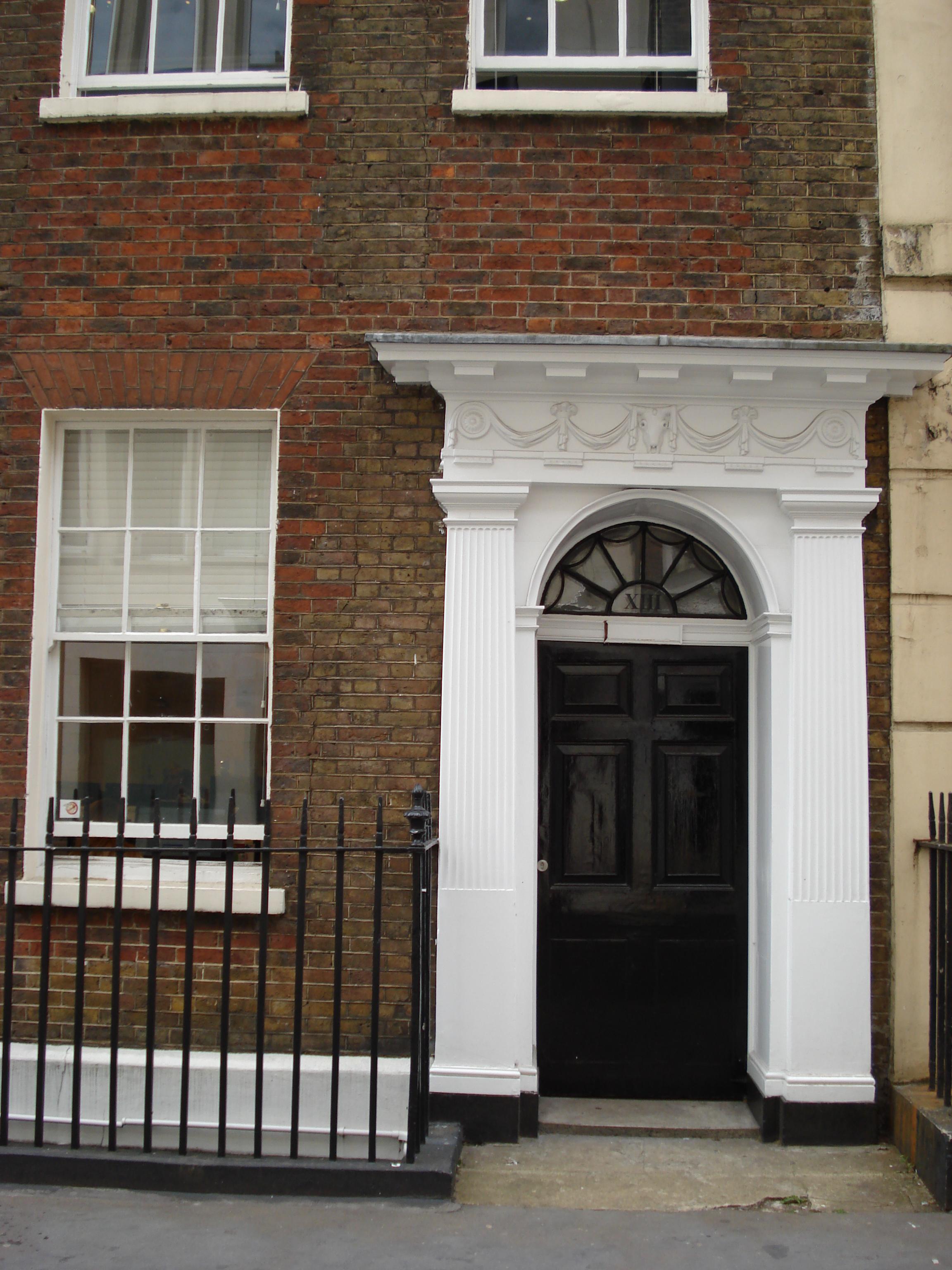 13 Buckingham Street, Strand, office of the Men's Political Union for Women's Enfranchisement