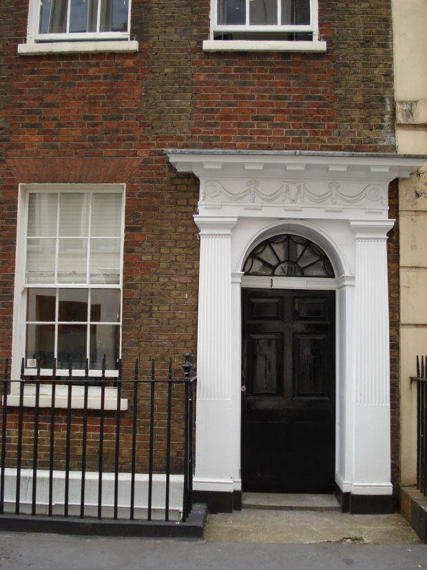 13 Buckingham Street, Strand, office of the Men's Political Union for Women's Enfranchisement