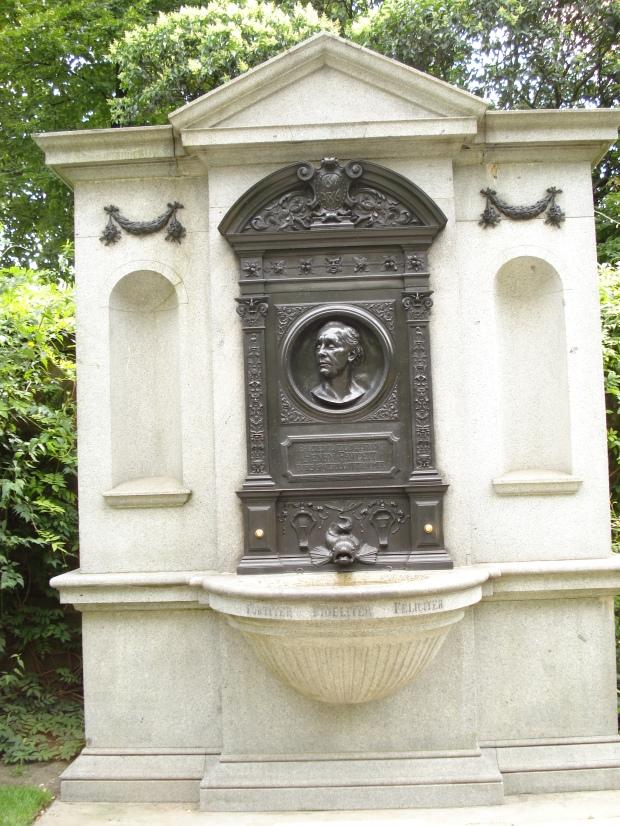 Henry Fawcett's memorial, erected 1886