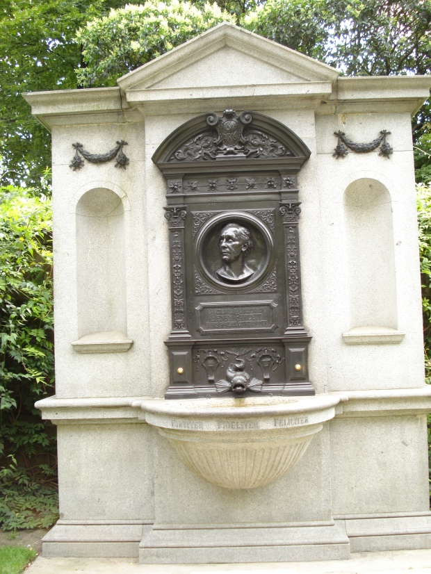 Henry Fawcett's memorial, erected 1886