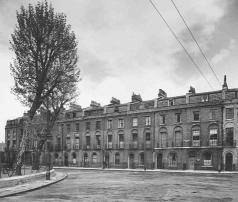 Nos 8-18 Northampton Square (now demolished), photographed in 1953. Courtesy of British History Online, Survey of London vol 46