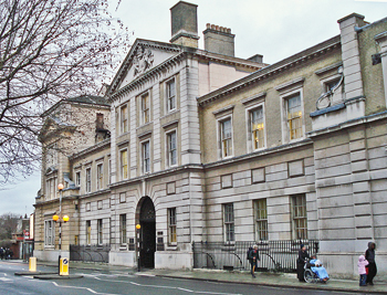 Royal Free Hospital (now the Eastman Dental Hospital) Gray's Inn Road