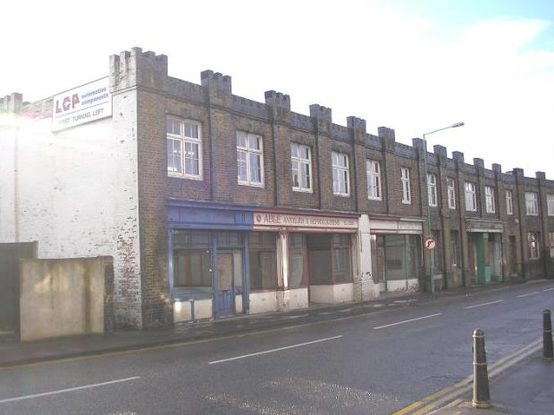 Jezreel's Hall, Canterbury Street. (Image courtesy of Medway Lines.com)