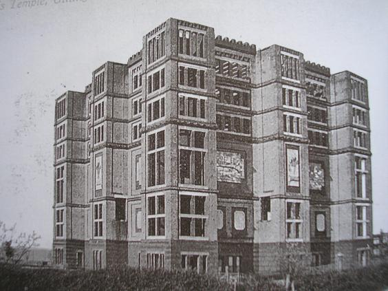 Jezreel's Tower in 1906. (Courtesy of Medway Lines.com)
