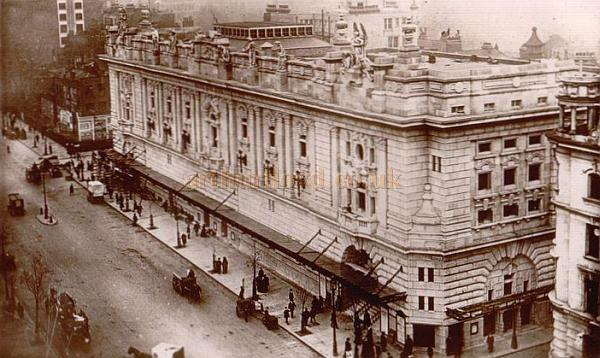 London Opera House, Kingsway. (Image courtesy of arthurlloyd.co.uk)