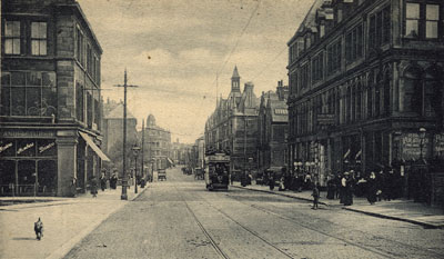 Manningham Lane, Bradford (image courtesy of Maggie Land Blanck)