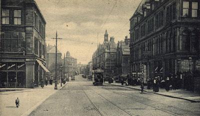 Manningham Lane, Bradford (image courtesy of Maggie Land Blanck)