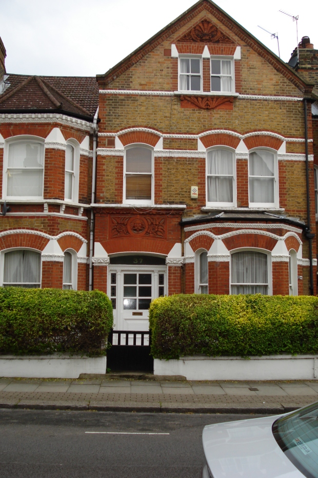 37 Lavender Gardens, Battersea -home of John Burns, minister in charge of the Census