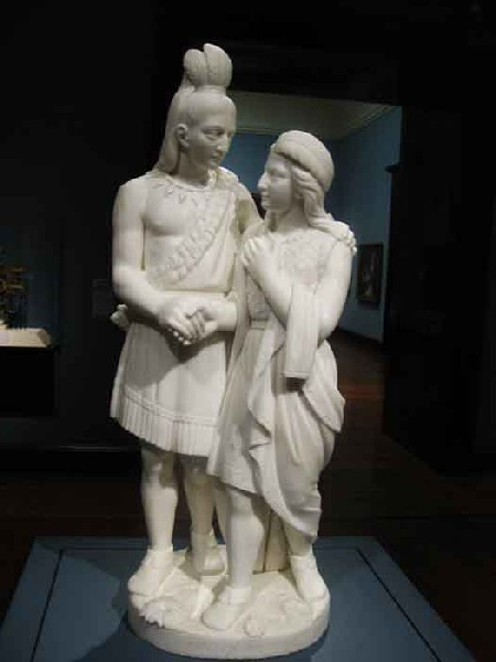 Hiawatha and His Daughter, courtesy of Cincinatti Art Museum