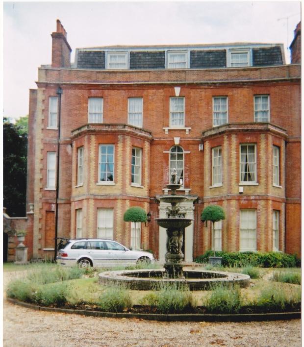 The Starkes' home, Hylands House, Epsom