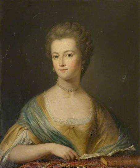 Mrs Crespigny, courtesy of Kelmarsh Hall and the Public Catalogue Foundation