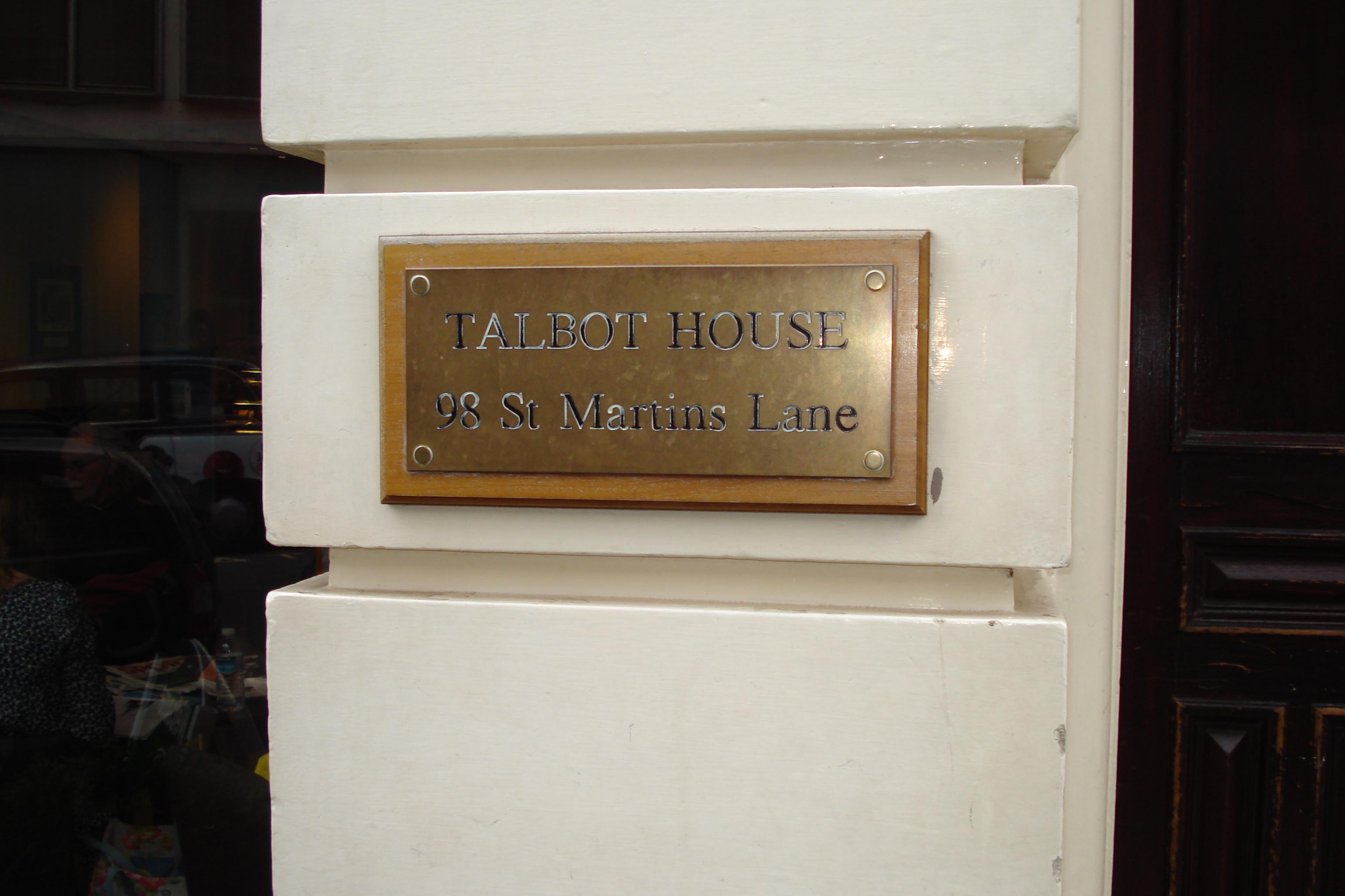 TRL Talbot House 98 st Martin's Lane