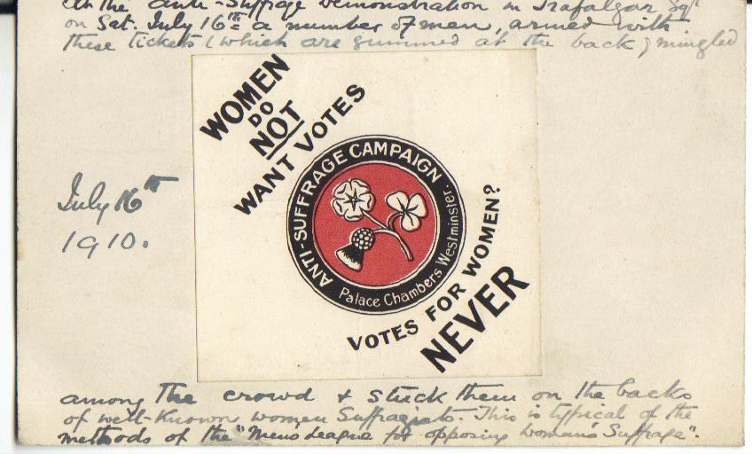 Anti Suffrage
