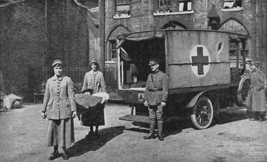 Endell Street Military Hospital, 1919. Courtesy  Wellcome Library, London. Wellcome Images images@wellcome.ac.uk