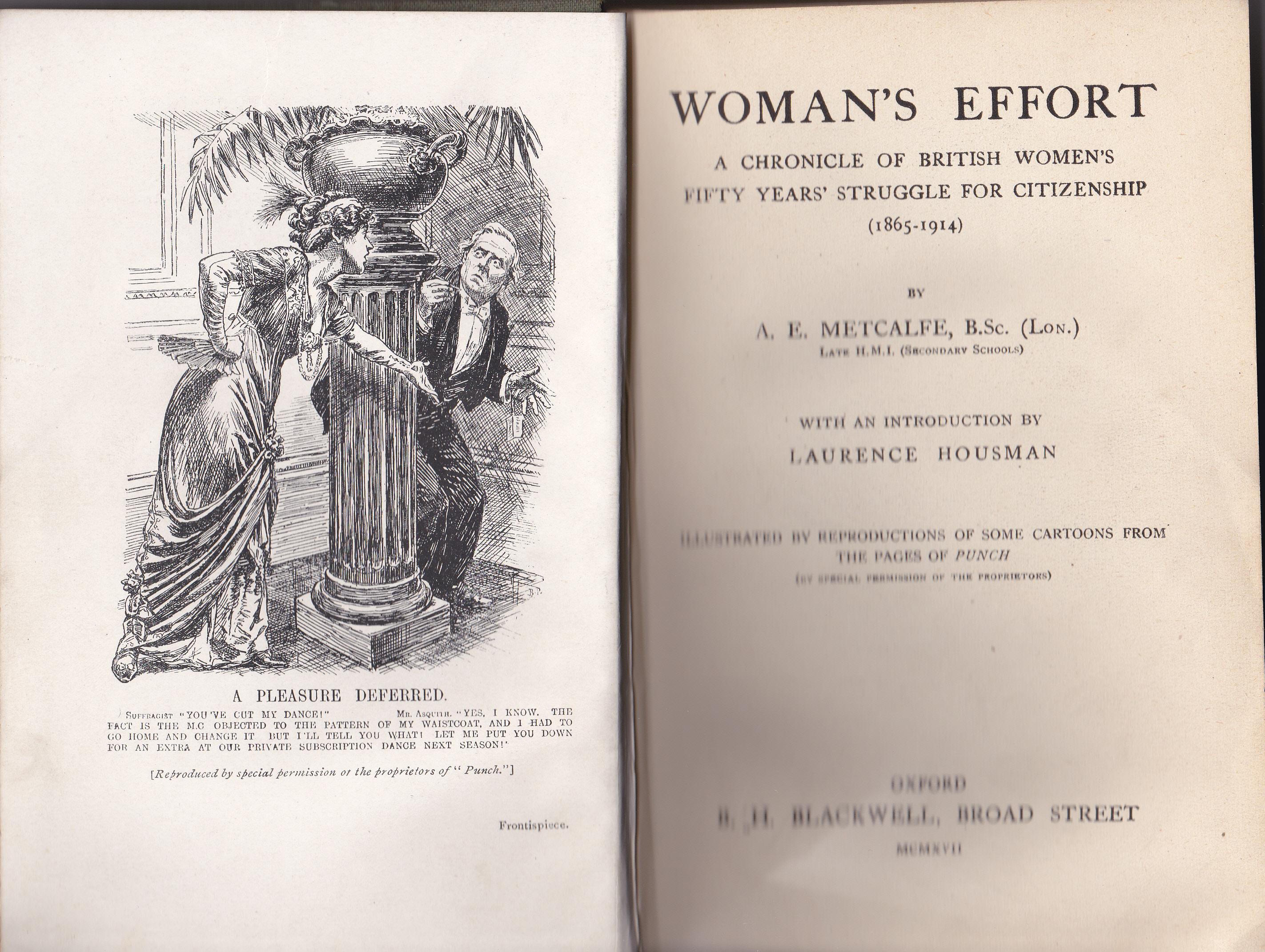 Metcalfe Woman's Effort