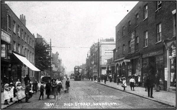Was Kate canvassing these shops on 9 July 1914? (Image courtesy Local Studies, Houslow Library Services)