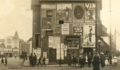 Hounslow Broadway c 1912 courtesy of postcardsthenand now.blogspot.com)