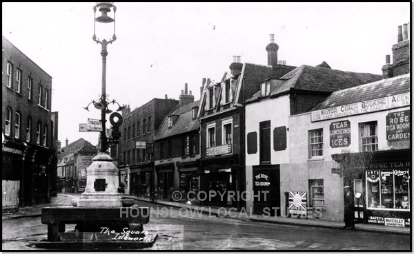 Upper Square, Isleworth (image courtesy of Hounslow Local studies website)