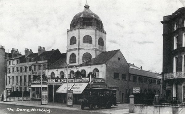 The  Marine Parade, Worthing, c 1914 (courtesy of excellent Sussex PhotoHistory website)