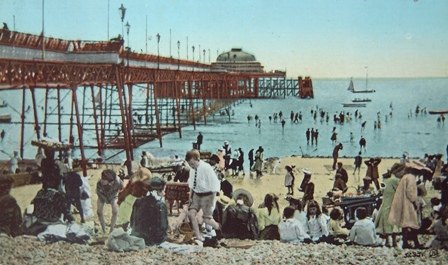 Worthing Pier, 1914 (courtesy of  Worthing History website)