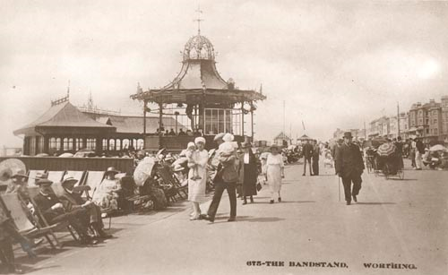 Worthing Parade, 1914
