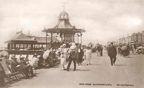 Worthing Parade, 1914