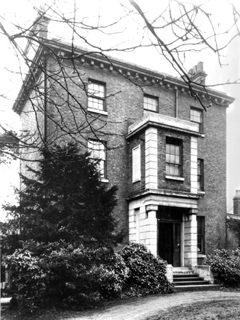 the Martineaus' house at 122 King's Avenue would have been very similar to this, no 103. (Image courtesy of  Ideal Homes: A History of the South-East London Suburbs)