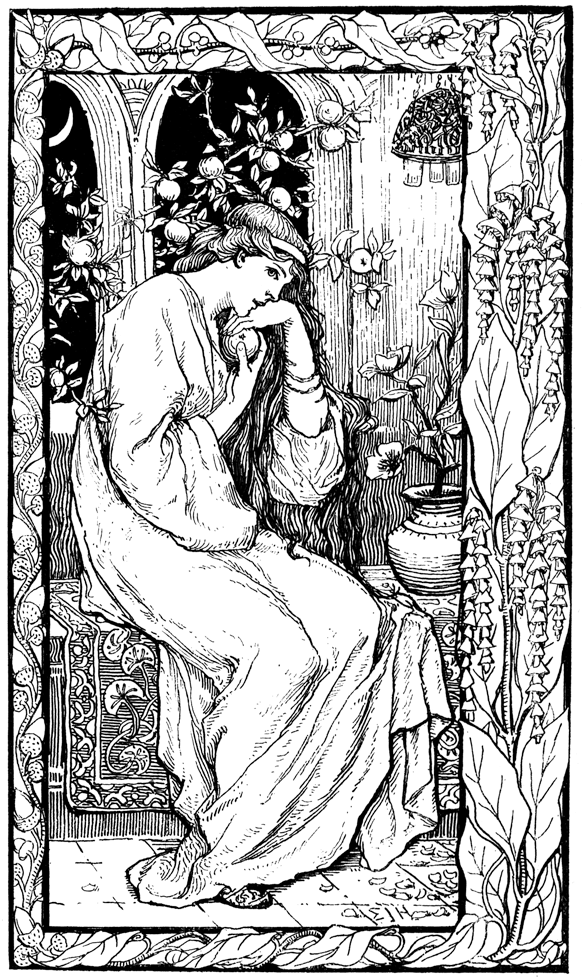 Frontispiece from 'Slav Tales'