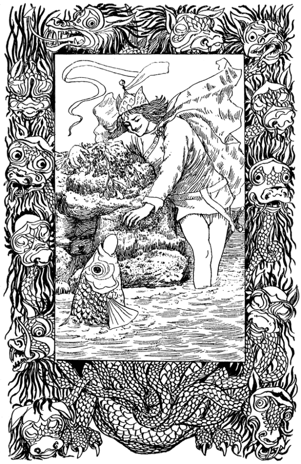 Another of Emily Harding's illustrations from 'Slav Tales'