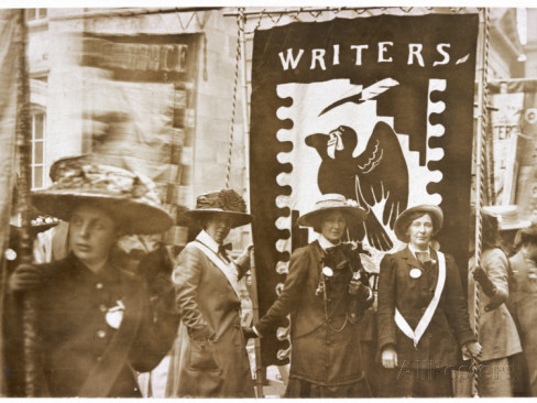 women writers banner